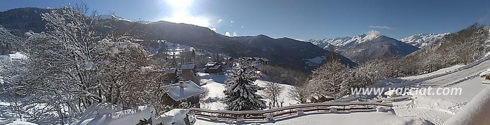 Location saisonnière et vacances chalet famillial Notre Dame du Pré Tarentaise Savoie